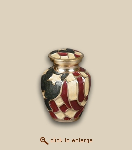Valley Forge Flag Cremation Urn - Keepsake