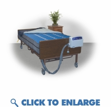 Full XL Bariatric Alternating Mattress System 80