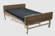 "Bariatric Hospital Bed / Medical Bed Frame 48"" Width Full Electric"