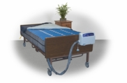 "Bariatric Alternating Mattress System 80"" X 54"" X10"" Full Size"