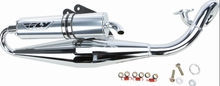 Fly Racing Exhaust Chrome Edition