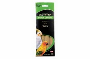 8 in 1 Ecotrition Perch Covers for Cockatiels Parakeets Finches Large