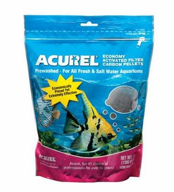 Acurel Economy Activated Filter Carbon Pellets Pouch 3lb
