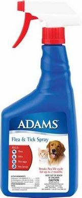Adams Flea & Tick Spray 32oz