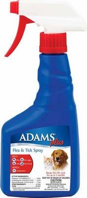 Adams Plus Flea & Tick Spary 16oz