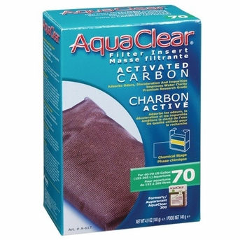 AquaClear 70 Activated Carbon, 4 1/5 oz, From Hagen