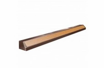 Aqueon Fluorescent Strip Light Oak 48in Deluxe