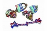Booda 3-Knot Rope Tug Multi-Color Large