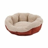 Aspen Pet 80135 Self Warming Cat Bed, 19-Inch, Warm Spice with Cr�me