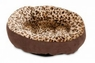 Aspen Pet Round Bed Animal Print 18in