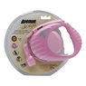 Avenue Design Retractable Tape Leash for Dogs, Medium, 16', Pink, From Hagen