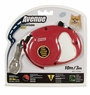 Avenue Retractable Cord Leash for Dogs, Extra Small, 10', Red, From Hagen