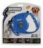 Avenue Retractable Cord Leash for Dogs, Large, 16', Blue, From Hagen
