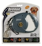 Avenue Retractable Cord Leash for Dogs, Large, 16', Gray, From Hagen