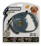 Avenue Retractable Cord Leash for Dogs, Large, 26', Gray, From Hagen