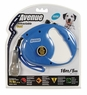 Avenue Retractable Cord Leash for Dogs, Medium, 16', Blue, From Hagen