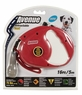 Avenue Retractable Cord Leash for Dogs, Medium, 16', Red, From Hagen