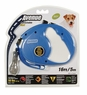 Avenue Retractable Cord Leash for Dogs, Small, 16', Blue, From Hagen