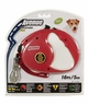 Avenue Retractable Cord Leash for Dogs, Small, 16', Red, From Hagen