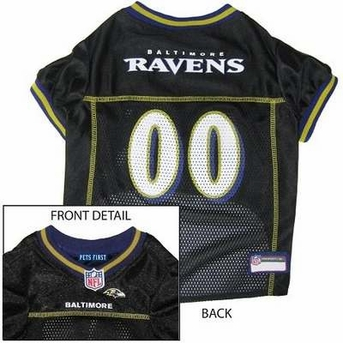 Baltimore Ravens NFL Dog Jersey - Small