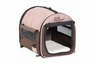 Petmate Portable Pet Home Dark Taupe Coffee Grounds Brown Mini