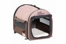 Petmate Portable Pet Home Dark Taupe Coffee Grounds Brown Small