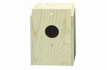 Bird Brainers Parakeet Nesting Box External Mounting