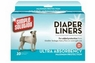 Simple Solution Diaper Liners Large 10pk