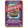 Bravo Organs Ground Turkey Heart/Lvr/Gizzards, 15 Pack Of 2 Lb Case