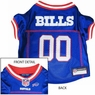 Buffalo Bills Dog Jersey - Red Trim