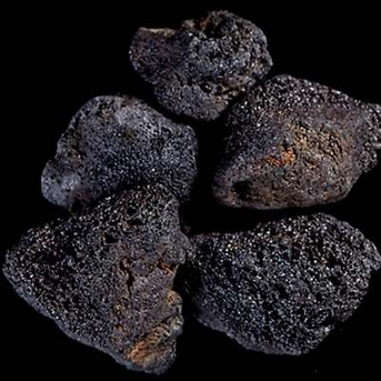 Carib Sea ACS25336 Kahuna Lava Rock Box for Aquarium, Black