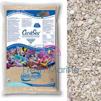 CaribSea Special Grade Reef Aragalive Sand Live Sand, 20 Lbs Bags, Arag Alive