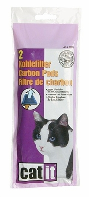 Catit Carbon Pads for Hooded Cat Pan, From Hagen