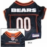 Chicago Bears NFL Dog Jersey - Large