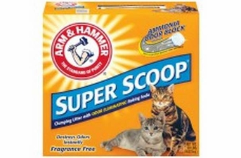 Arm & Hammer Super Scoop Clumping Unscented Litter 20lb
