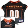 Cincinnati Bengals Dog Jersey Medium