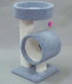 Classy Kitty Pedestal w/ Tall Tunnel 34 in.