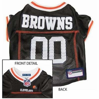 Cleveland Browns NFL Dog Jersey - Medium