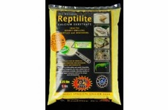 CaribSea All Natural Reptilite Calcium Substrate Sunshine Yellow 6.25lb