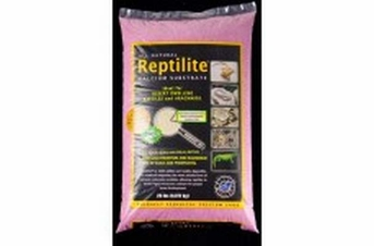 CaribSea All Natural Reptilite Calcium Substrate Pink 20lb