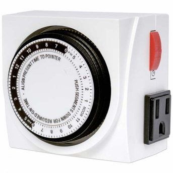 Current USA Dual Outlet Timer