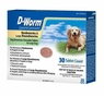 D-Worm Dog Dewormer Chewable Tablets for Large Dogs