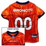 Denver Broncos NFL Dog Jersey - Extra Small