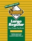 Diamond Dog Biscuits Poly Bags Dog Biscuit Large, 6 Pack Of 4 Lb Case