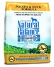 Dick Van Patten's Natural Balance Limited Ingredient Diets Potato and Duck Formula Dry Dog Food, 13-Pound Bag