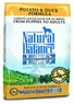 Dick Van Patten's Natural Balance Limited Ingredient Diets Potato and Duck Formula Dry Dog Food, 26-Pound Bag