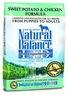 Dick Van Patten's Natural Balance Limited Ingredient Diets Sweet Potato and Chicken Formula Dry Dog Food, 26-Pound Bag