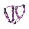 "Dogit Adjustable Harness, 1"" x Neck 20-30"", Chest: 28-39"", Large, Wild Stripes, Purple, From Hagen"