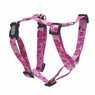 "Dogit Adjustable Harness, 1"" x Neck 20-30"" x Chest: 28-39"", Large, Aloha, Pink, From Hagen"