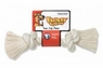 Mammoth Pet Products 100% Cotton White Rope Bone Medium 12in